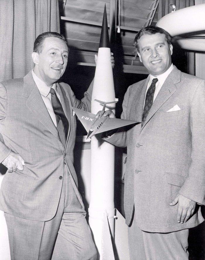 Дісней і фон Браун, 1954ох, США