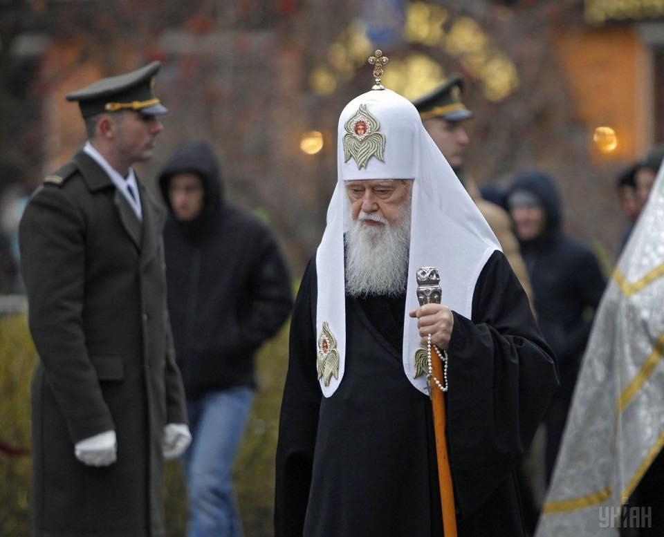 Перше богослужіння предстоятеля новоствореної Православної церкви України: блаженніший Епіфаній проводить літургію в Михайлівському соборі - Цензор.НЕТ 2739