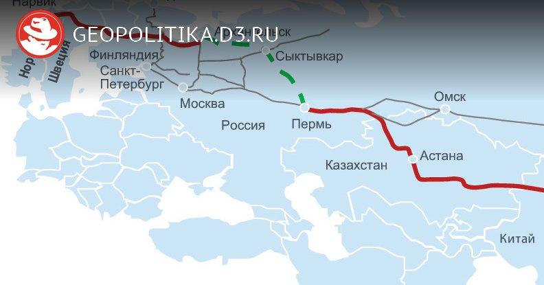 Северный шелковый путь