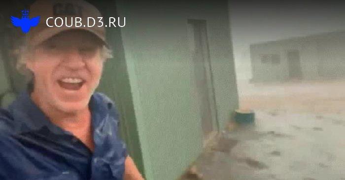 Первый дождь в Австралии