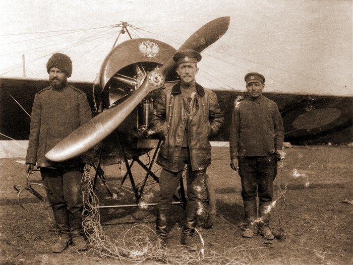 Лучший русский ас–истребитель в Первой мировой войне Александр Казаков, 1915 год, Польша