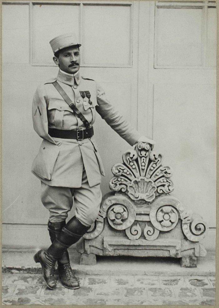Фото 1916 года, Франция