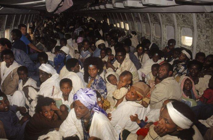 Максимальное количество пассажиров в самолете, 24 мая 1991 года, Эфиопия