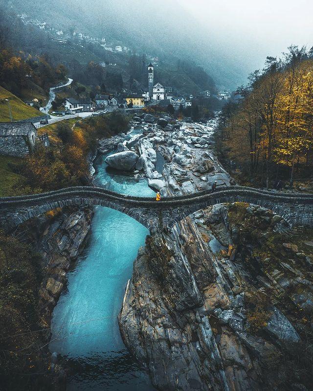 Valle Verzasca, Locarno district, Switzerland