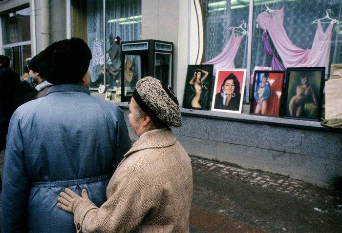 Прохожие на Арбате, 1989 год, Москва