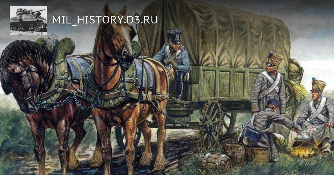 Тыл Наполеона: как снабженцы погубили Великую армию