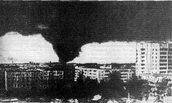 Смерч над Иваново, 9 июня 1984 года, СССР