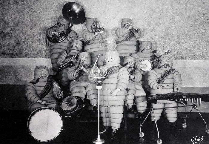 Ансамбль компании Michelin, около 1937 года, США