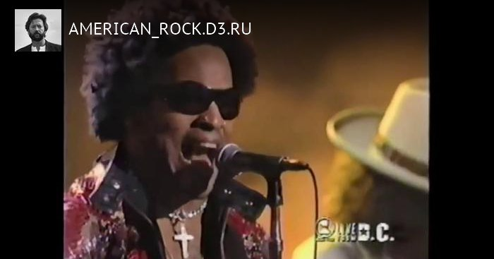 Lenny Kravitz, Eric Clapton perform All Along The Watchtower 1999