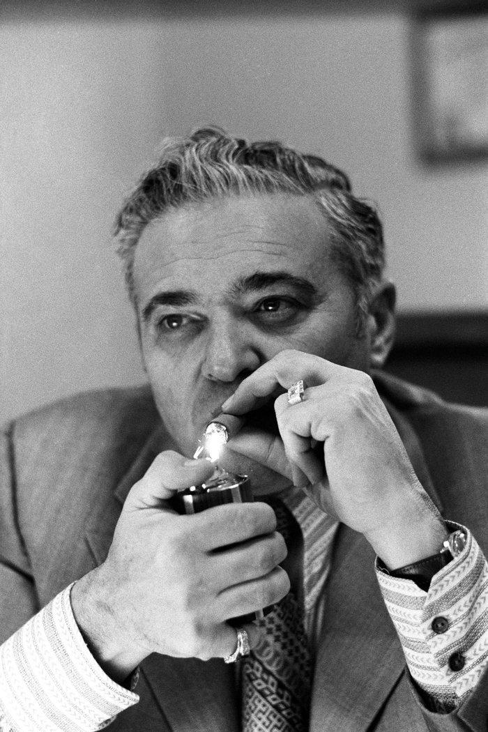 Альберт Сидман — шеф детективов Нью–Йорка,  1970–е