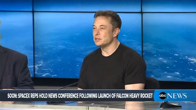 SpaceX успішно запустила ракету Falcon Heavy - Цензор.НЕТ 1212