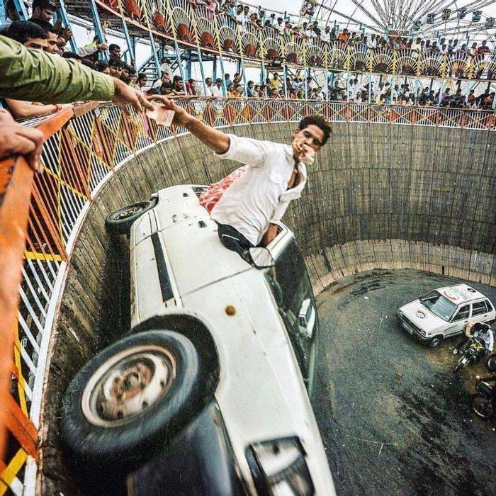 Автомобильное шоу, 1970–е годы, Раджкот, Индия