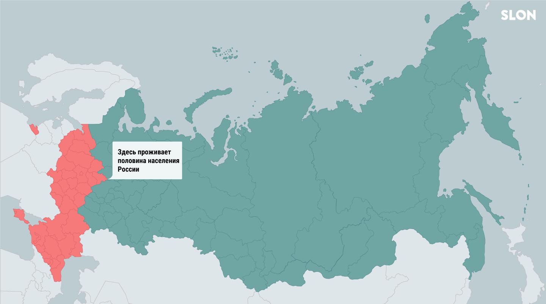 6 карт, которые объясняют Россию