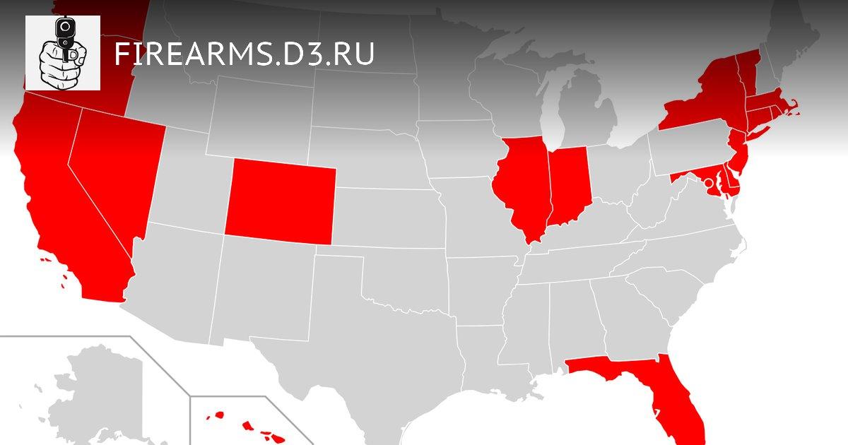 Red Flag законы в несвободных штатах. Первое серьезное противостояние в НЙ