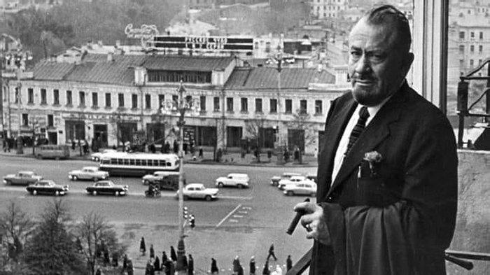 Д. Стейнбек, 1963 год, Москва