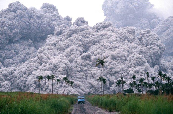 Извержение вулкана Пинатубо, 15 июня 1991 года, Филиппины