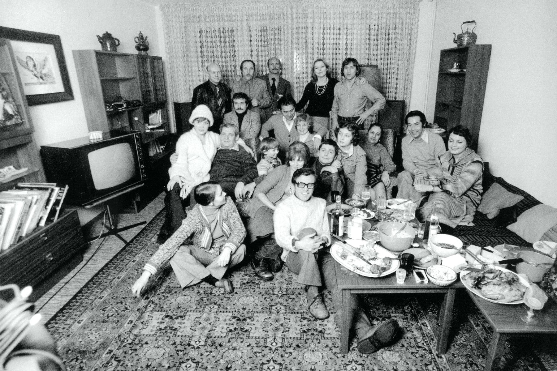 В квартире В. Высоцкого на Малой Грузинской, 24 декабря 1975 года, Москва