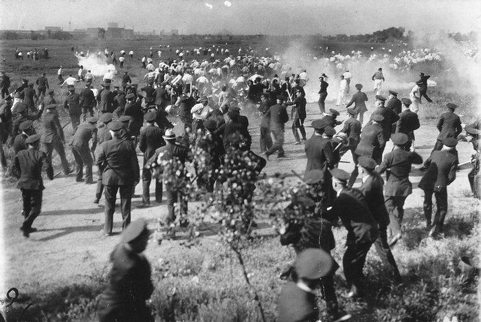 Расстрел демонстрации в Чикаго 30 мая 1937 года
