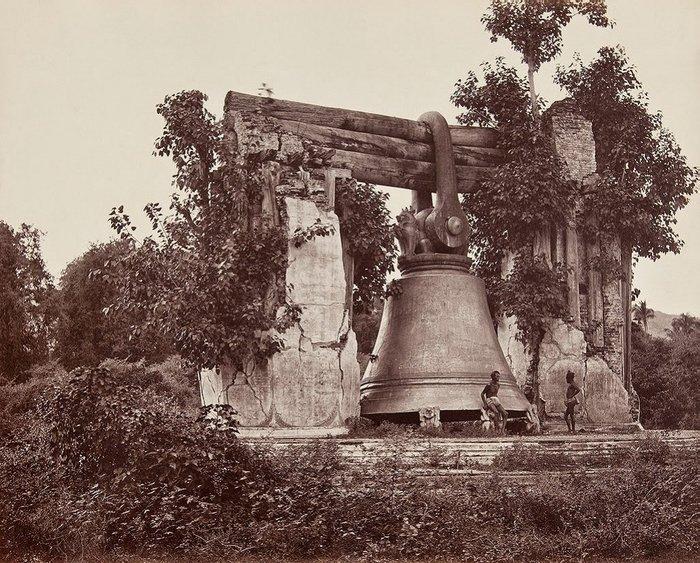 Мингунский колокол, 1873 год, Мандалай, Бирма