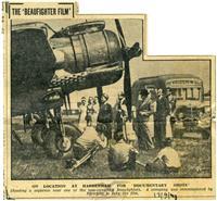 Первый и единственный съёмочный день фильма о героических новозеландских лётчкиках