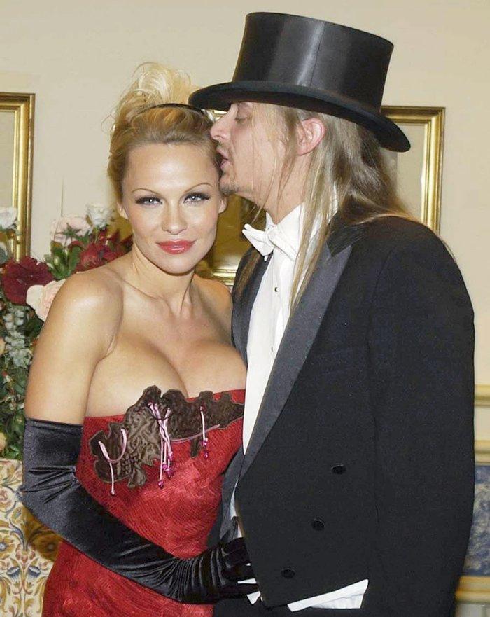 Памела Андерсон и Кид Рок на балу, 30 января 2003 года, Вена