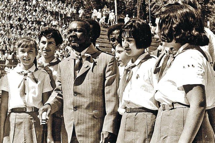 Канибал Бокасса в Артеке, 1973 год